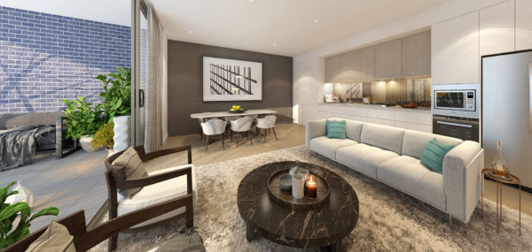 Uptown – 1Bed Living