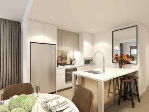 Uptown - 2Bed Kitchen