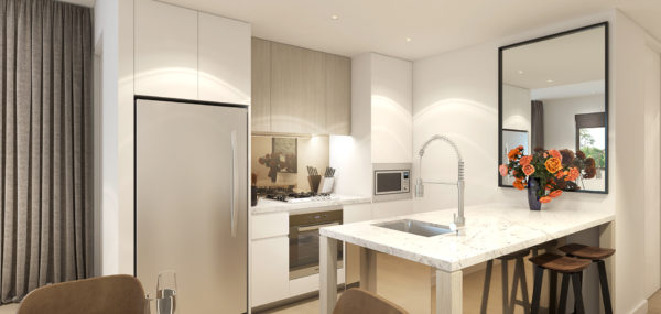 Uptown – 2Bed Kitchen