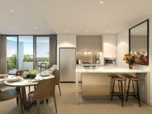 Uptown - 2 Bed Dining