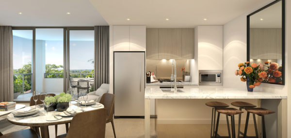 Uptown – 2 Bed Dining