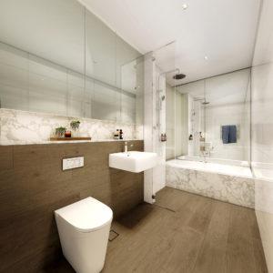 Uptown - Bathroom Dulce