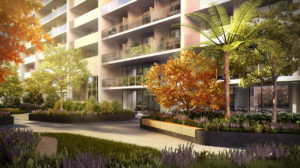 Avantra Apartments - Podium