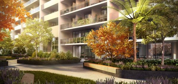 Avantra Apartments – Podium