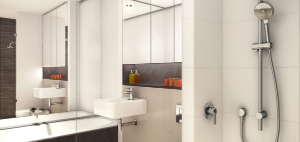 Avantra Apartments – Bathroom Example