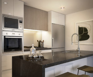 Avantra Apartments - Kitchen Small