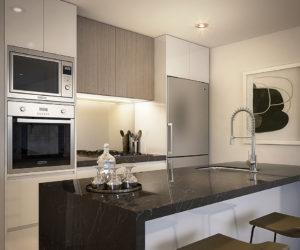 Avantra Apartments - Kitchen Small