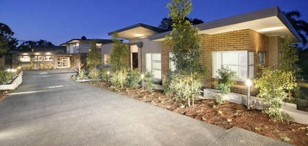 Smarts Crescent Townhouses – External