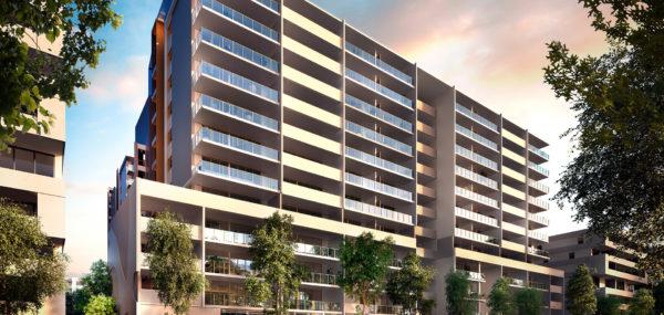 Avantra Apartments – Building