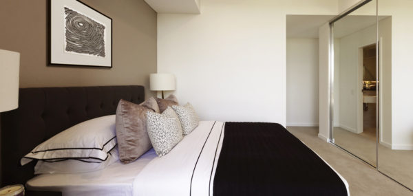Uptown Apartments – bedroom