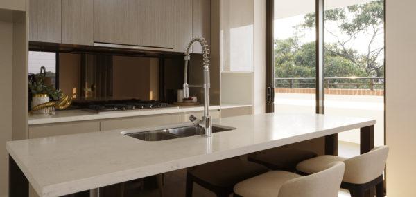Uptown Apartments – kitchen